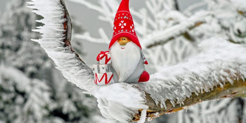 Image of a Santa Claus figure