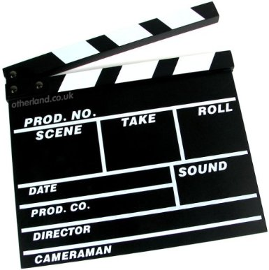 Image of clapperboard