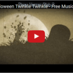 Halloween Twist on Twinkle Twinkle Little Star